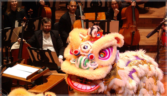 San Francisco Symphony Chinese New Year concert