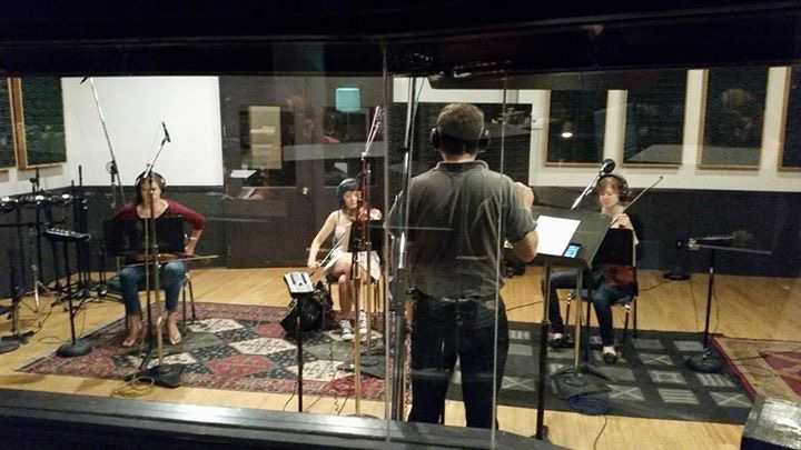 "Recording strings for ""Emerald, Texas"""